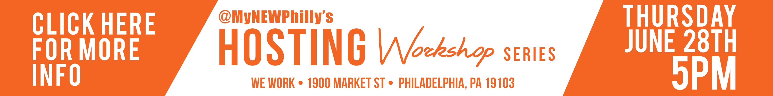 MyNEWPhilly hosting workshop